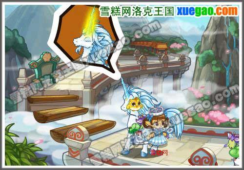 洛克/↑图:洛克王国小独角兽散藤技能的特殊作用(非VIP用...