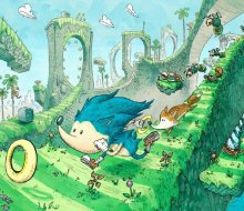 美式童话故事中的插画插图创作